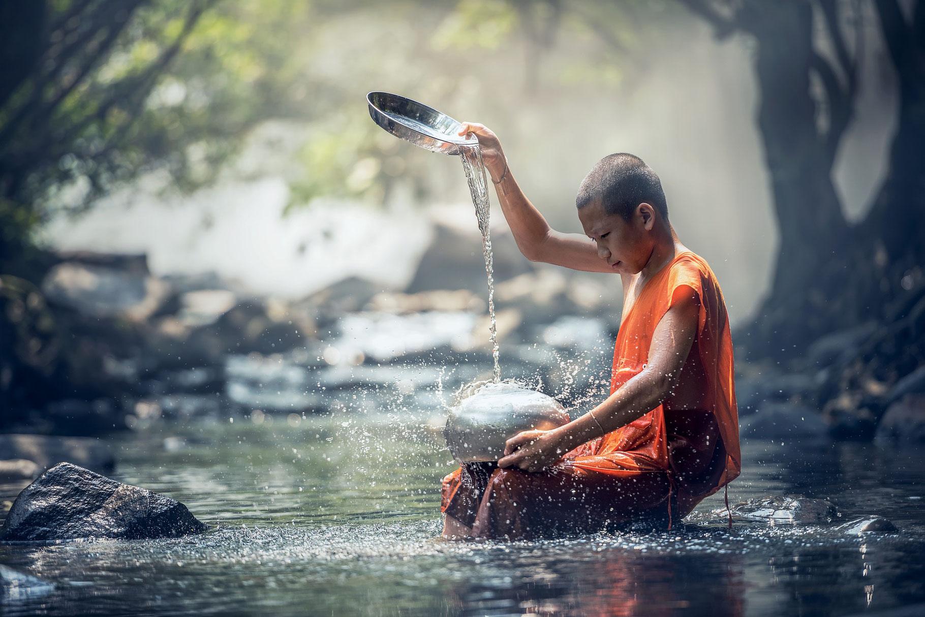 nettoyage energetique à l'eau