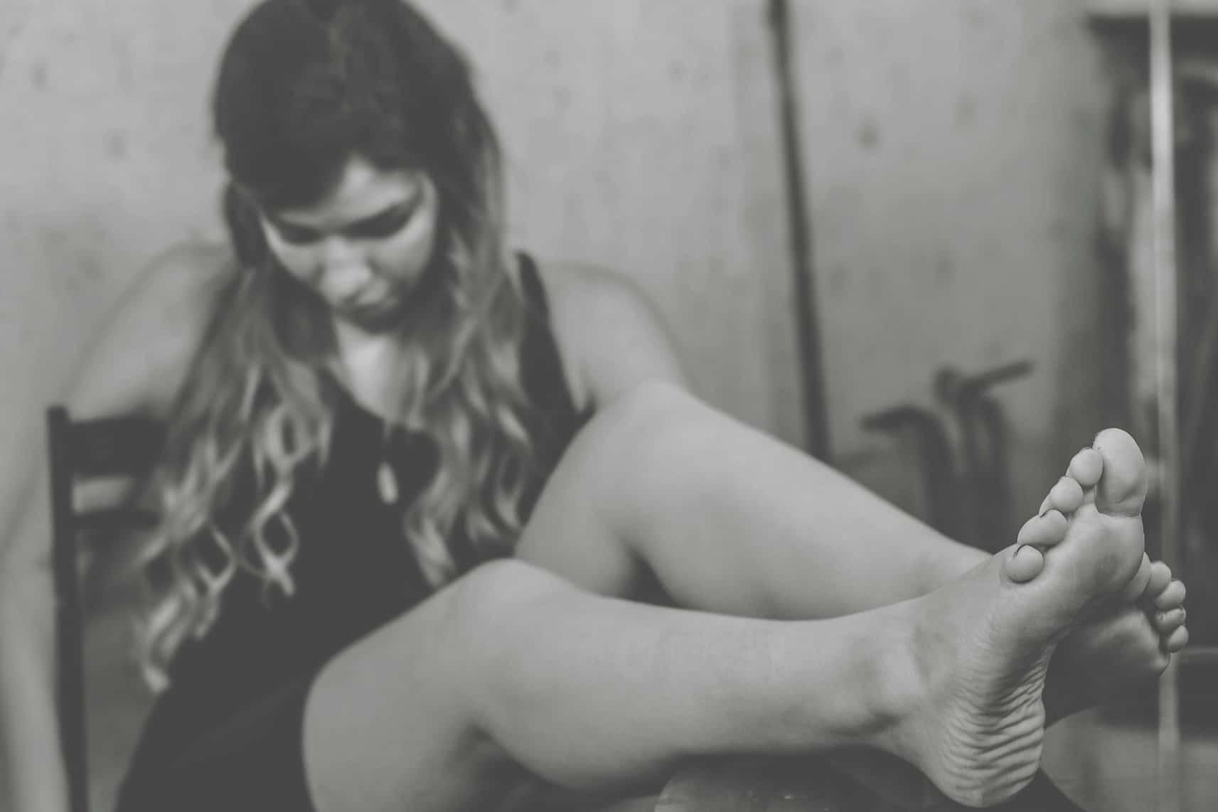 jambes de femme sans vergetures