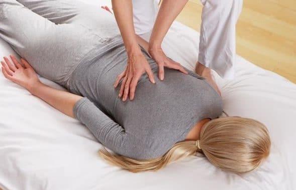 Massage shiatsu du dos