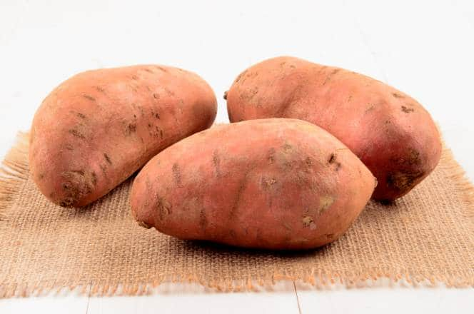 3 patates douces